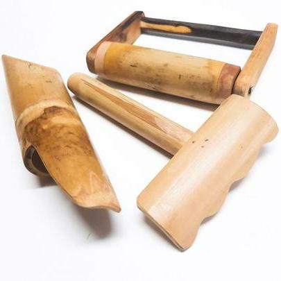 Bamboo Sand Toys (set of 3)