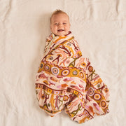 Bountiful Bamboo and Organic Cotton Swaddle