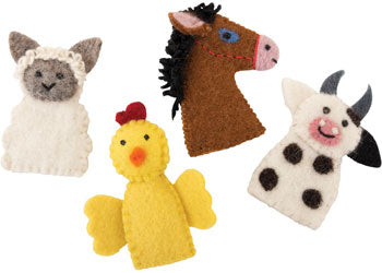 Farm Animals Finger Puppets