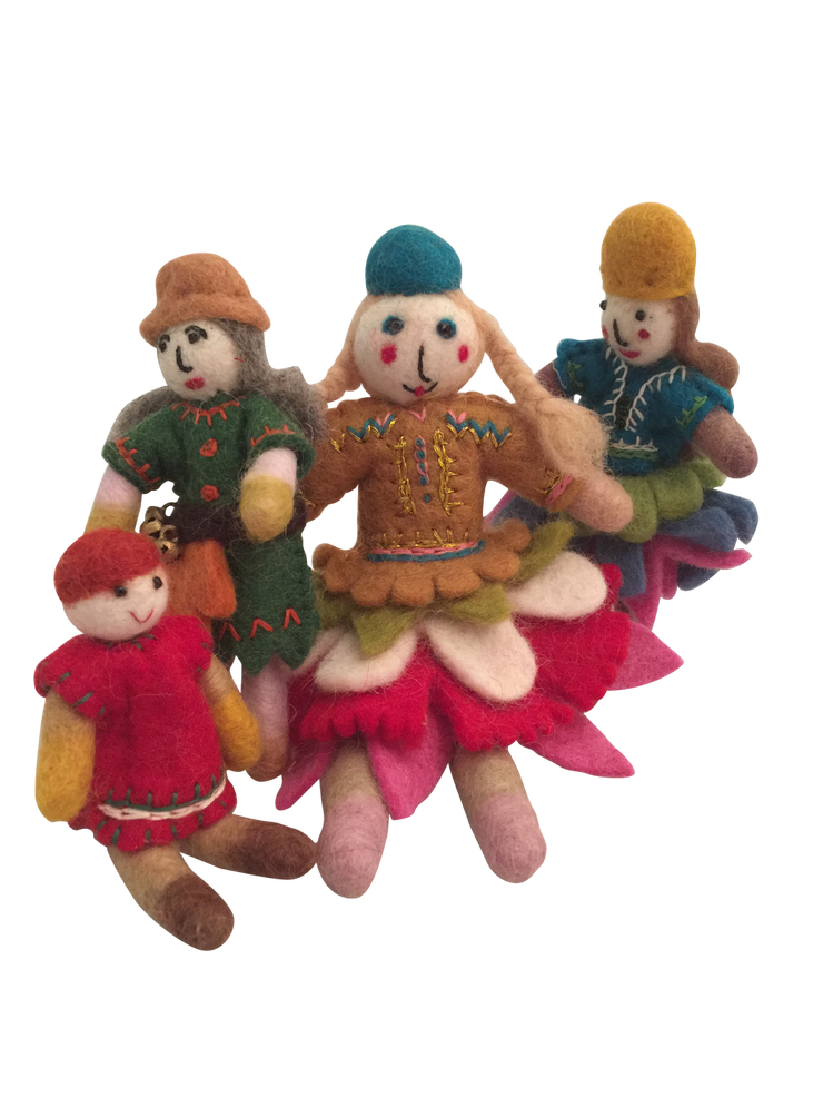 Forest Family (set of 4)