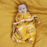 Golden Child Bamboo and Organic Cotton Swaddle