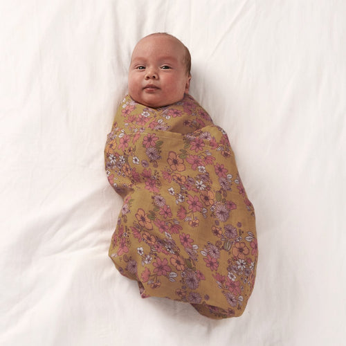 Love Child Bamboo and Organic Cotton Swaddle