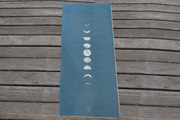 Moon Phase Yoga Mat