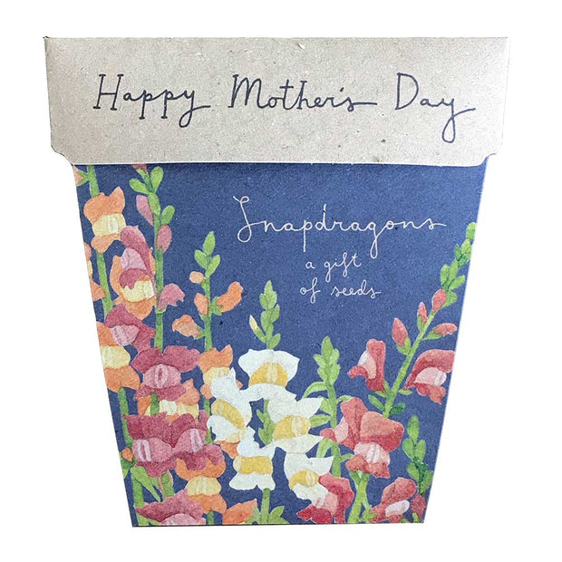 Snapdragon's Mother's Day Gift of Seeds