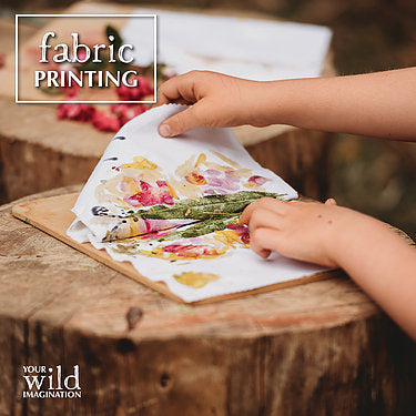 Your Wild Imagination: Nature play activity book for children