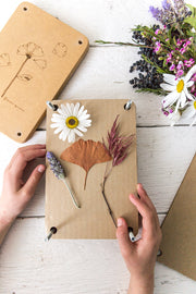 "Wooden Flower Press ""Poppy"""