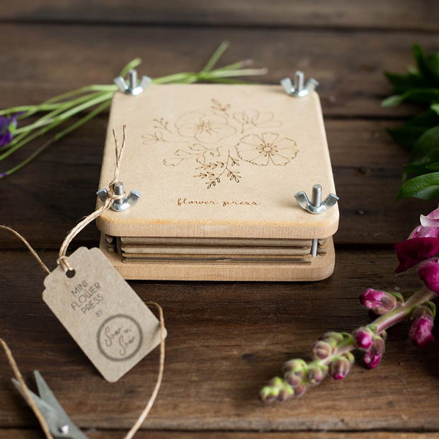 "Wooden Flower Press ""Posy"" Mini"