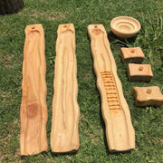 Wooden Water Ways Starter Family Set