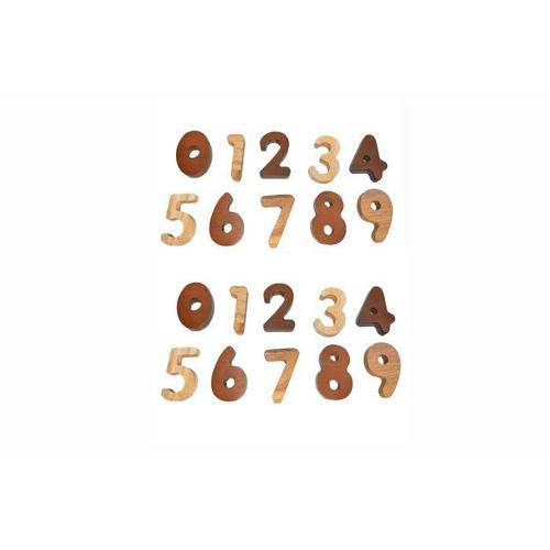 Wooden Number Set (2 tone)