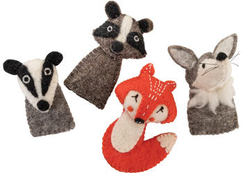 Woodlands Finger Puppets