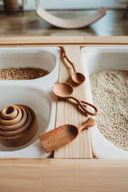 Wooden Looped Spoon