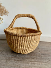 Earth Mini Basket (Vegan handle)