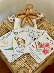 Australiana Affirmation Cards