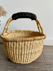 Earth Mini Basket (black handle)