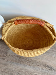Earth Large Market Basket (Tan Handle)