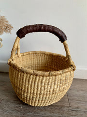 Earth Mini Basket (chocolate handle)