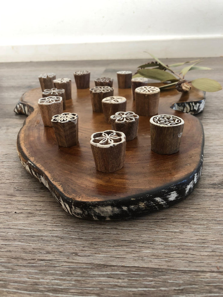 Wooden Printing Blocks (MINI)