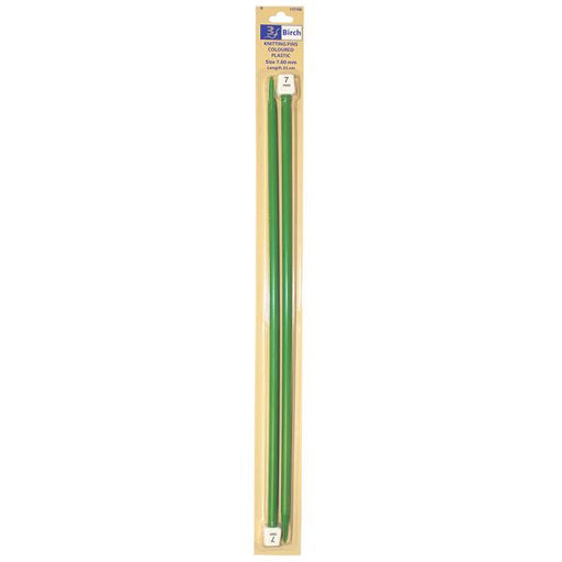 Plastic Knitting Needles - 35cm