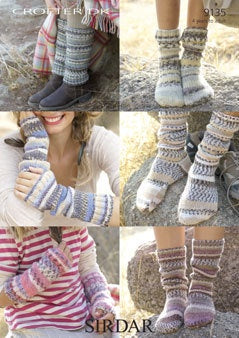 9135 Crofter DK - Socks, Leg Warmers and Wrist Warmers
