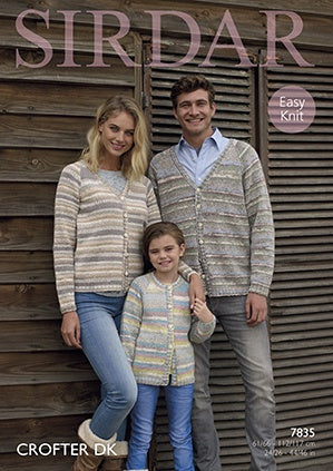 7835 Crofter DK - Family Cardigans