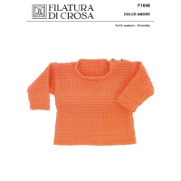 F1048 Dolce Amore - Multi Pattern Pullover