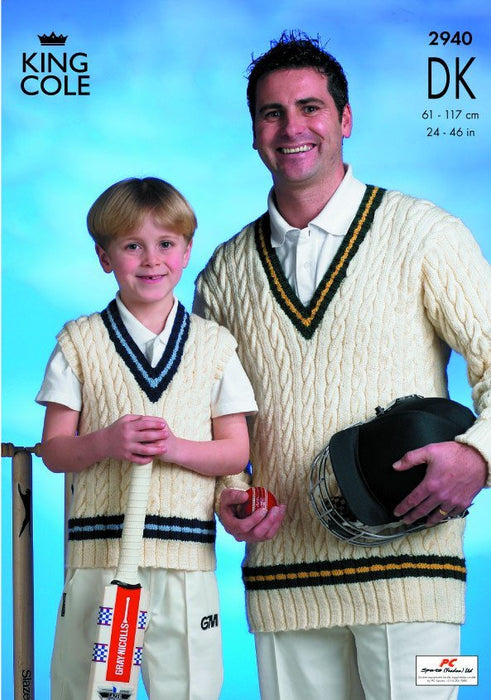 2940 King Cole DK - Cricket Sweaters