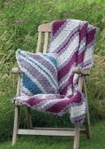 370 Throws and Cushions : Aran, Chunky & Super Chunky : Knit & Crochet
