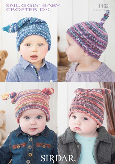1482 Snuggly Baby Crofter DK - Hats