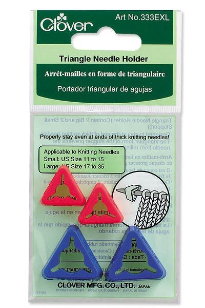 Jumbo Triangle Needle Holder (DISC)
