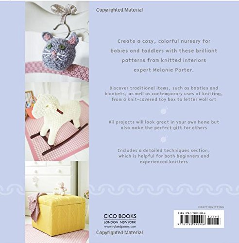 The Hand-knitted Nursery : 35 gorgeous designs for furnishing, clothes and toys by Melanie Porter