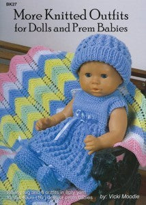 More Knitted Outfits For Dolls & Prem Babies