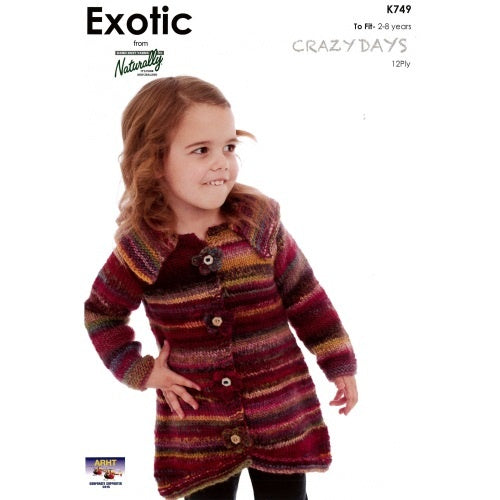 K749 Crazy Days 12ply - Toddlers Coat
