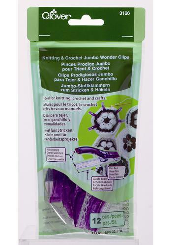 Jumbo Wonder Clips for Knitting & Crochet