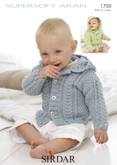 1759 Supersoft Aran - Jackets