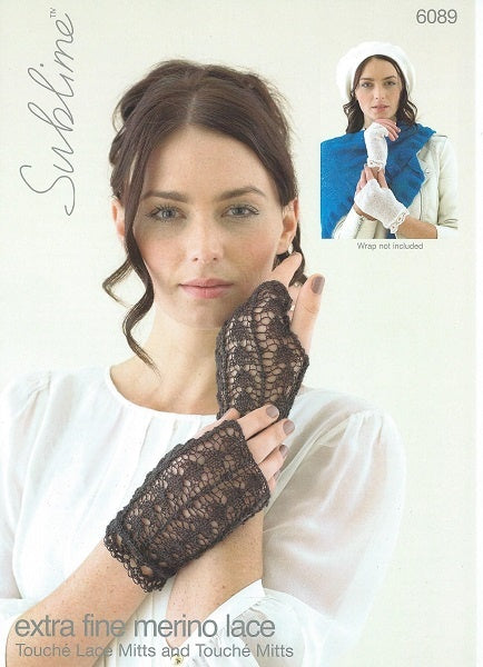 6089 Touche Mitts and  Touche Lace Mitts