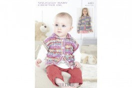 4483 Snuggly Baby Crofter DK - Baby and Girls Jackets
