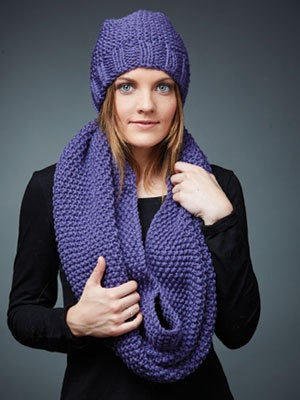 468 Woolshed Merino - Hat and Cowl
