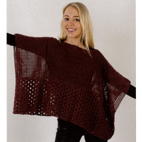 2424 Crochet Throw Over Top
