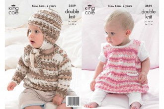 3559 Dress, Sweater & Hat