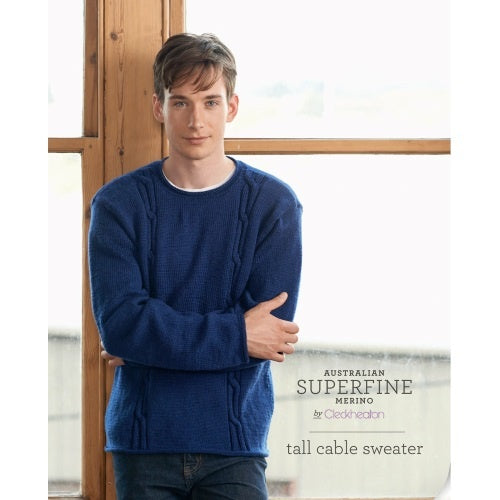 404 Tall Cable Sweater