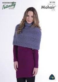 N1195 12 Ply Mohair - Capelet