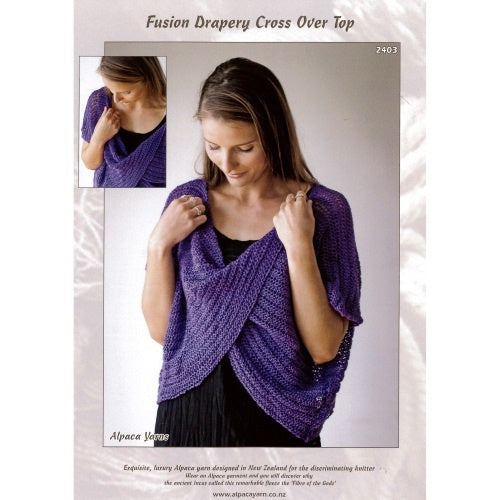 2403 Fusion Drapery Cross Over Top