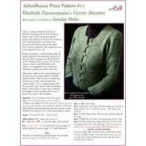 13 Elizabeth Zimmermann's Green Sweater