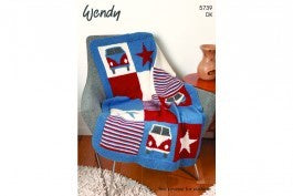 5739 Campervan Blanket and Cushion