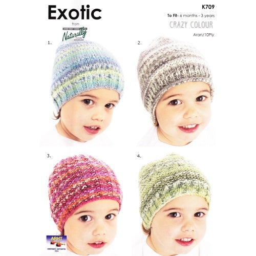 K709 Exotic - Four Easy Hats
