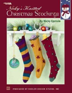 Nicky's Knitted Christmas Stockings 18 Fun Projects by Nicky Epstein