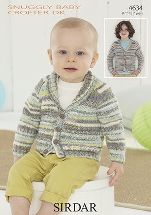 4634 Snuggly Baby Crofter DK - Cardigans