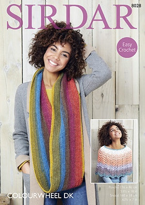 8028 Poncho and Snood
