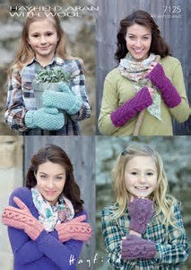 7125 Mittens and Wrist Warmers