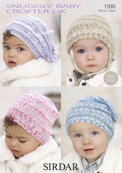1930 Snuggly Baby Crofter DK - Hats
